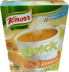 Sopa Quick Light Zapallo  Knorr - Caja  x 5 Sobres   (560944) (561024)