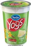 Yogur Descremado Firme Vainilla Pote x 190 c.c. SanCor Yogs Light  (6537) (6231) (5031)